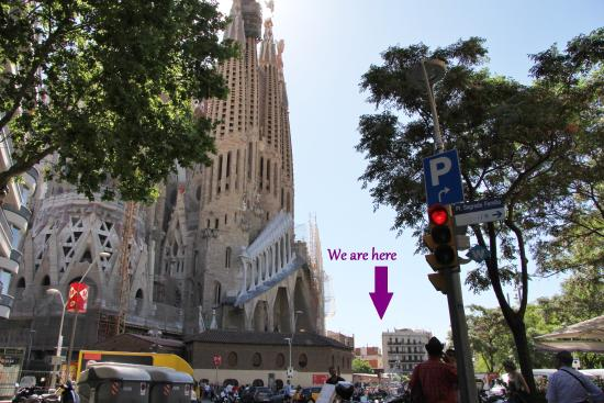 Ole Barcelona Hostel: Ole Barcelona - beside Sagrada Familia