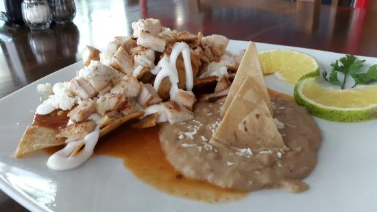 Serrano's Meat House: Chilaquiles