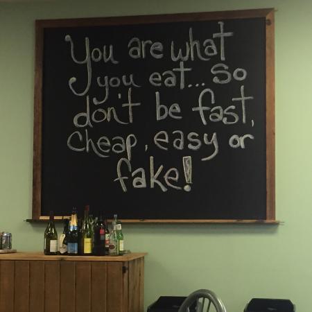 Front Royal, VA: Words of wisdom