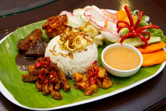 Barbeque beef rib in authentic bali spices picture of for Authentic indonesian cuisine