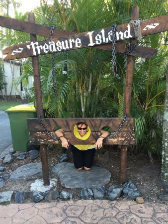 NRMA Treasure Island Resort & Holiday Park: Part of the Mini Putt Putt layout.