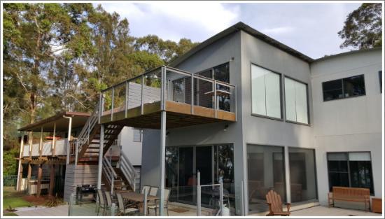 Sanctuary Point, Australia: The Deck
