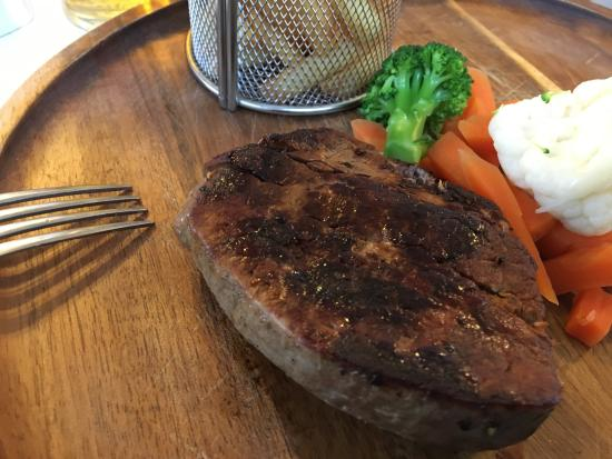 Dounby, UK: Filet steak