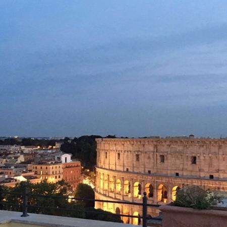 Terrazza panoramica - Foto di Relais Terme di Tito, Roma - TripAdvisor
