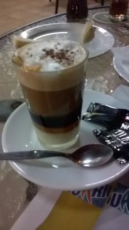 Terraza El Jable : Barraquito (Spanish coffee)