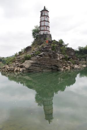 Leaning Tower of Chongzuo: Leaning Tower on an Island