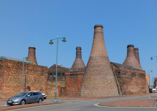 Longton, UK: View from car park (parking included in price)