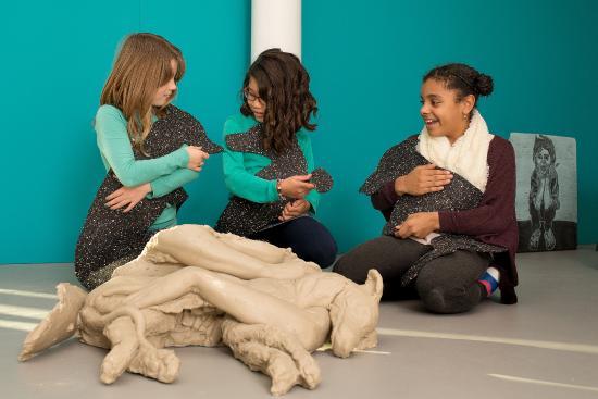 Villa Zebra: Kinderen in de tentoonstelling Welkom Thuis