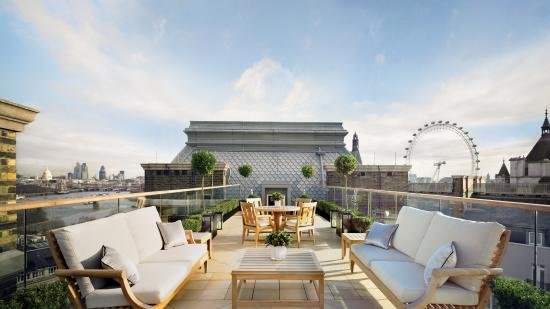Corinthia Hotel London: The Musician's Penthouse Terrace