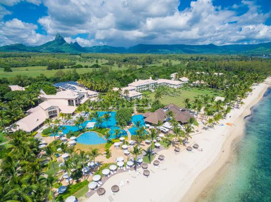 Tides Restaurant Aerial View Of Sugar Beach Resort Spa