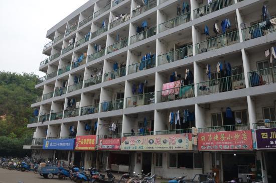 Zhoushan Putuo Mayi Island: Workes dwellings