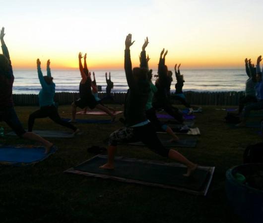 Beach Yoga Durban