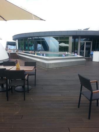 terrazza vista montagna e vasca con idromasaggio - Picture of Splash ...