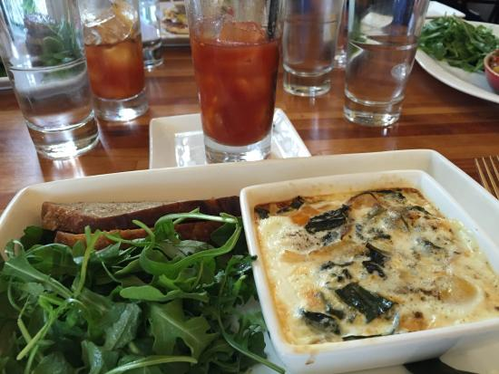 Fish: Baked Eggs Cocotte
