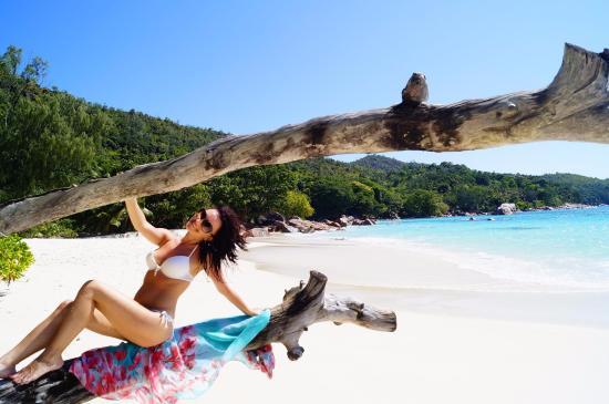 Praslin Island, Seychellerne: Коряги)