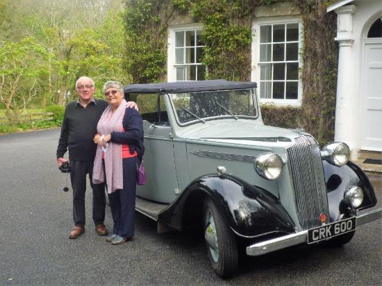Mithian, UK: Fab destination for chugging out in classic cars. Great walks that connect with the coastal path