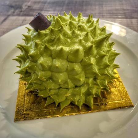 Durian Cake Review