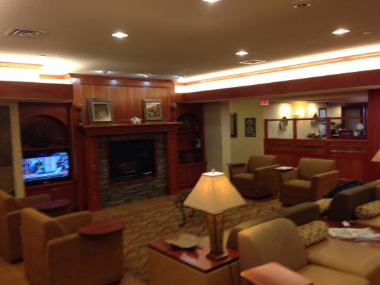 Lobby at Hampton Inn Rapid City