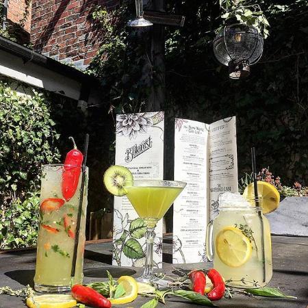 The Botanist: Cocktails