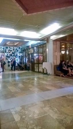 Galil Hotel : отдых и вход в зал ресторана