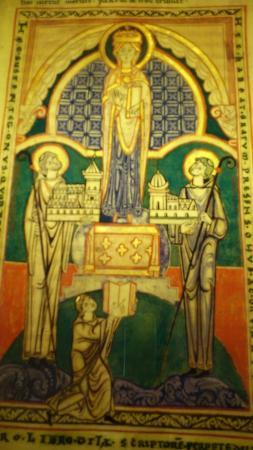 Saint-Nicolas-les-Citeaux, ฝรั่งเศส: copie a la main d'anciens livres