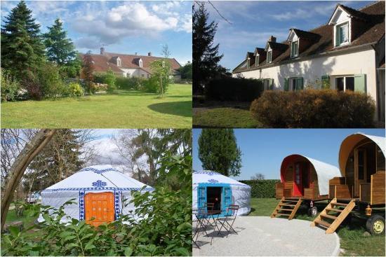 Sambin, ฝรั่งเศส: La Alt' chambres d'hôtes yourtes et roulottes au coeur des châteaux de la Loire