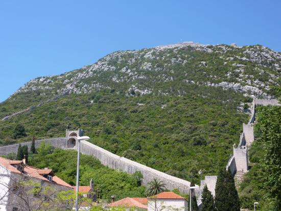 The walls of ston picture of ston city walls ston tripadvisor ston city walls the walls of ston voltagebd Image collections