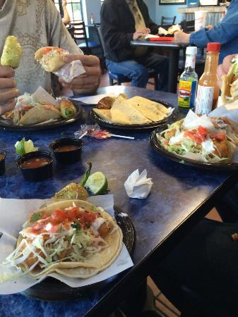 Azusa, Califórnia: fish tacos