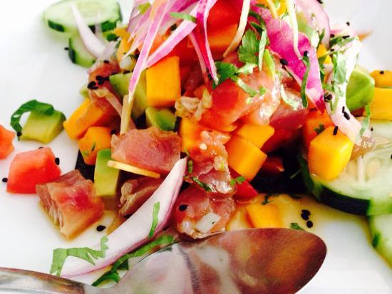 recipe: tuna mango ceviche [8]