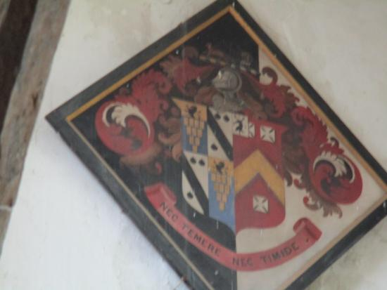Upper Heyford, UK: Hatchments, Church of St Leonards and St James, Rousham