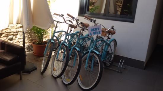 Apartamentos San Pablo: Rent a Bike!