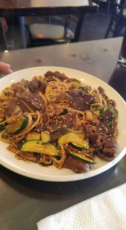 Gobi Mongolian BBQ: BBQ with Beef and Noodles