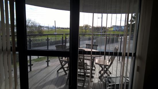 Kilrush, Ιρλανδία: Drink on the deck