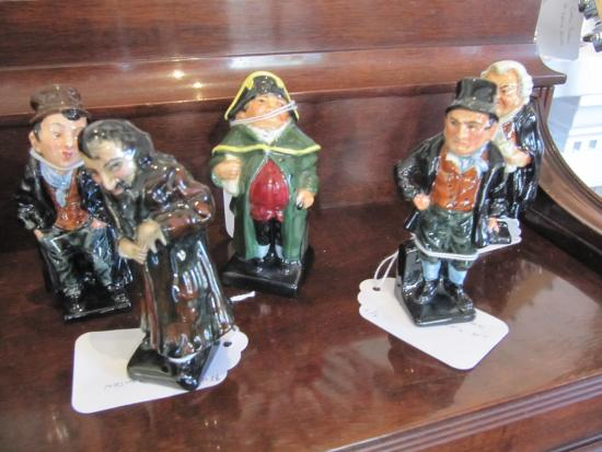 Grafton, VT: Vintage Doulton Figurines (before Royal Doulton)