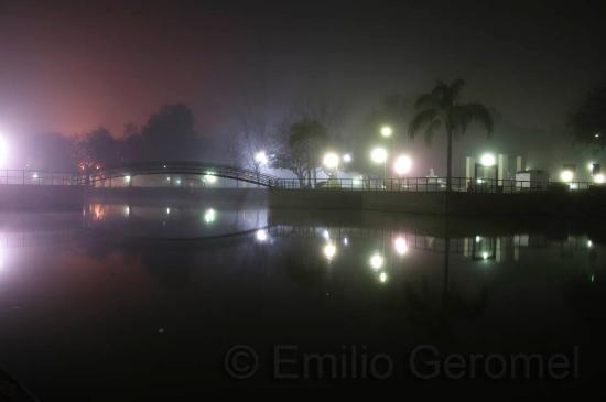 Nocturna Parque De La Agricultura Esperanza Santa Fe Argentina