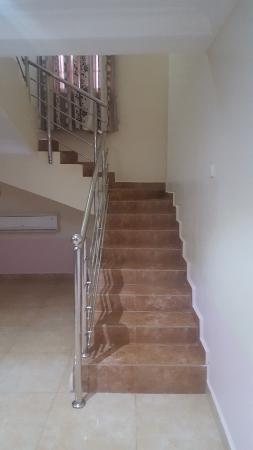 Jos, Nigeria: Staircase leading to the upstairs bedroom
