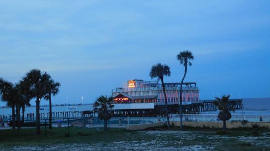 Oceanwalk Daytona Beach Restaurant Joes Auf Dem Pier Vor
