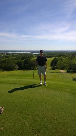 Horseshoe Bay, Teksas: Apple Rock Golf Course.