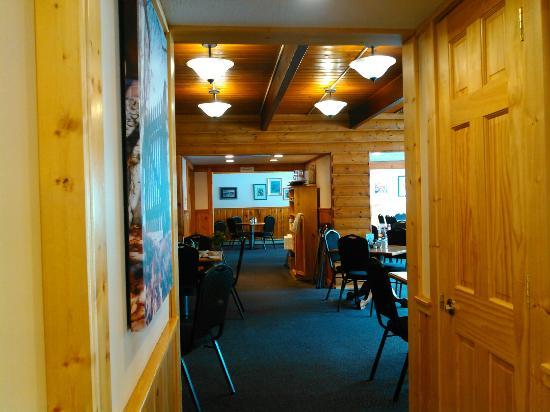 Honor, MI: Interior of restaurant