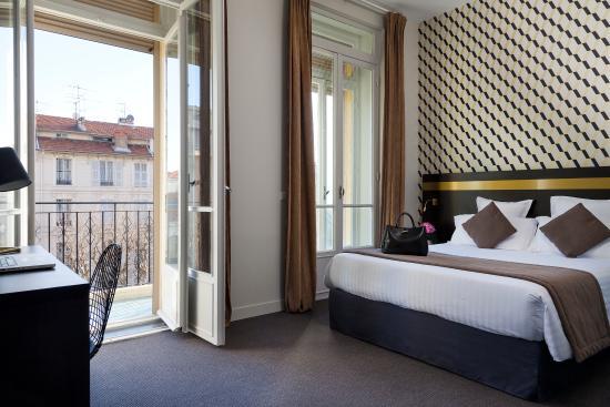 La Malmaison Nice: Chambre double