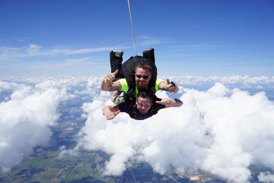 Florida Skydiving Center : Tandem Skydive