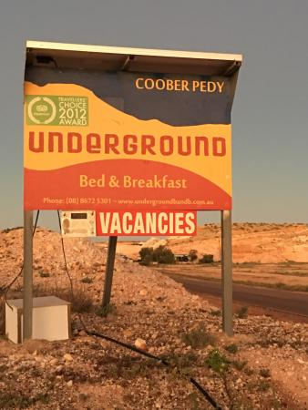 Underground Bed & Breakfast: Don't look past this accommodation. What a wonderful asset to Cobber Pedy.