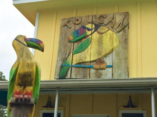 Toucan Grill: Out Front