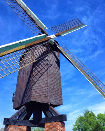 Papenburg, Germany: Gut restaurierte Mühle