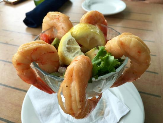Oriental, Carolina del Norte: Shrimp Margarita App