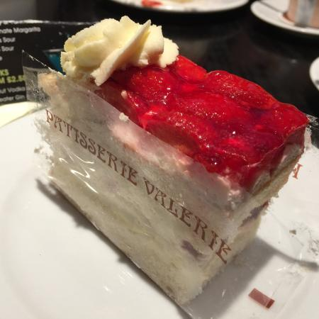Patisserie Valerie Strawberry Gateaux