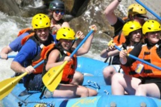 Zoar Outdoor/Deerfield Valley Canopy Tours: Exhilarating whitewater rafting all summer long!
