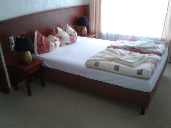 Hotel Wodnik: wygodne łóżko