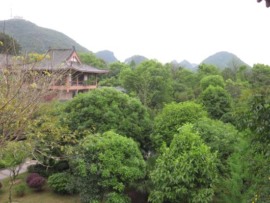 Guilinyi Royal Palace: Lovely view.