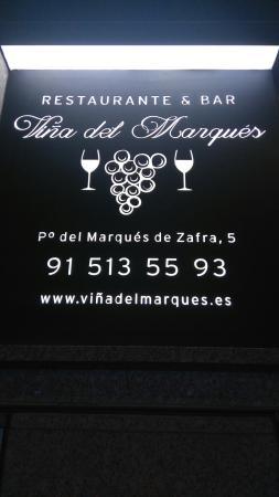 Restaurante Vina del Marques